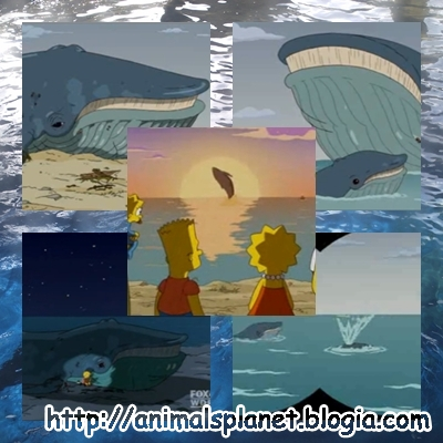 La ballena de los Simpsons